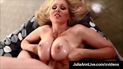 thick Booby Bang! mom Julia Ann Gets ball sack Of guy Milk On bumpers