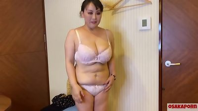 54 years senior asian hefty mama with massive titties chats in interview about her nail experience. older japanese chick loves masturbation with fucky-fucky toy.  milf bbw Osakaporn