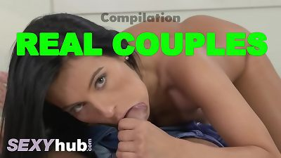 Dane Jones Compilation of real couples individual and romantic creampies