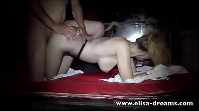 warm wifey gets ravaged by several dudes in a club