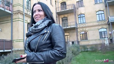 GERMAN SCOUT - HOT MILF KATIE TALK TO FUCK AT REAL PICK UP STREET CASTING IN LEIPZIG