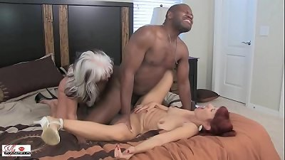 TABOO Caught pounding My black Step Daddy's NIGGA pecker  WARNING Racial Slurs Sally D'angelo bbc