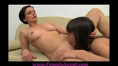 FemaleAgent cougar agent and her incredible orgasms