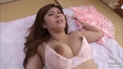 Japanese housewife's usual Lingerie 1 - Busty Bra & Panty
